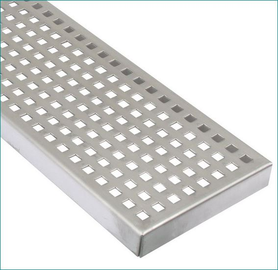 Twist Serrated Non-slip/skid Steel Grating ตะแกรงแสตนเลส