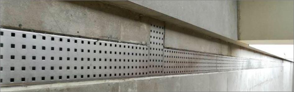 ฝาท่อตะแกรงเกรตติ้งแผ่นสำเร็จรูประบายน้ำ Stainless Aluminium wiremesh Expanded Metal Grating