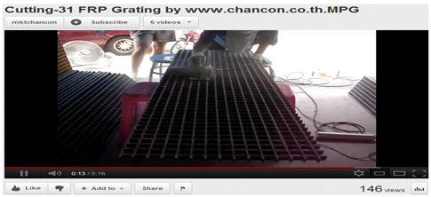ตะแกรงไฟเบอร์กล๊าส frp grating manhole cover