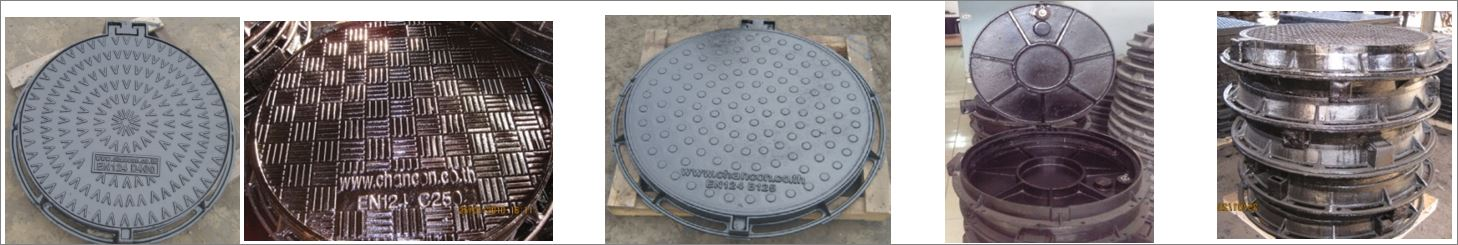 sewer drain manhole cover ฝาปิดบ่อครอบท่อพักระบายน้ำ
