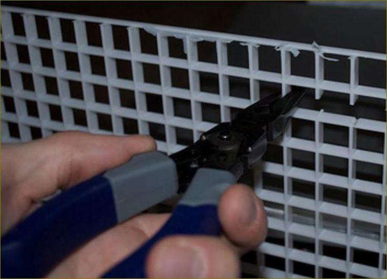 ตะแกรงกั้นช่องแสงบังไฟระบายอากาศ  EggCrate grilleScreen  แผงระแนงบังตาหน้ากากอาคาร