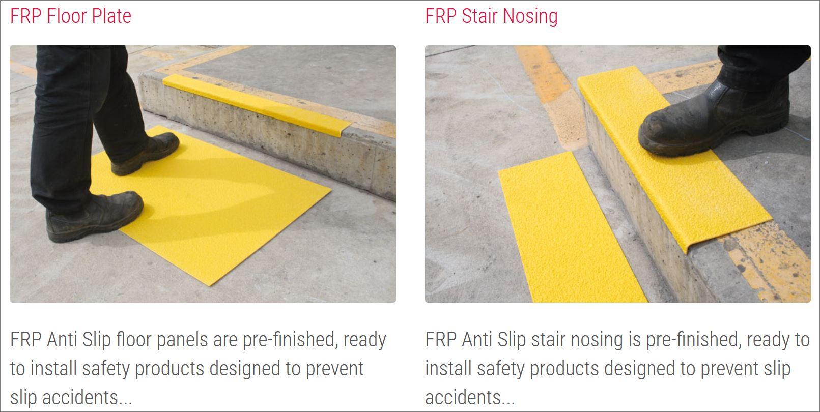 Fiberglass Reinforced Plastic Anti-Slip Sheeting