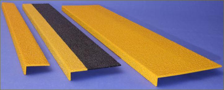 เทปกันลื่นกั้นเขต เทปตีเส้นสะท้อนแสงปิดจมูกและแผ่นลูกนอนบันได  Anti slip-resistance tread nosing Tape stairways