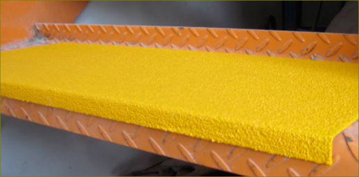 slippery resistance outdoor safefy walkway tape cover แผ่นกันลื่นปิดผิวปูพื้นเทปตีเส้นเรืองแสงกั้นเขตจมูกขอบมุมคิ้วแผงครอบบันได