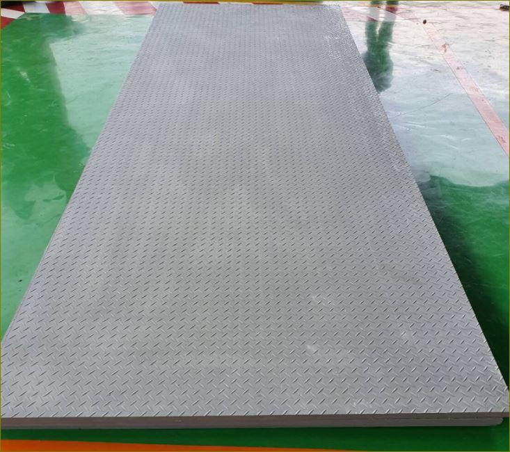 checkered plate Cover grating FRP Fibreglass ฝาปิดบ่อท่อพักไฟเบอร์กล๊าสเกรตติ้งตะแกรงระบายน้ำ
