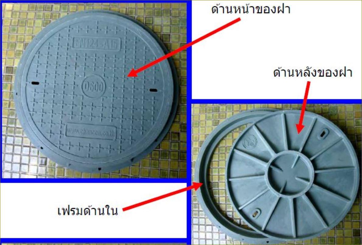 ตะแกรงระบายน้ำเหล็กฝาปิดบ่อท่อพักไฟเบอร์กล๊าส gFRP Composite grating manhole cover