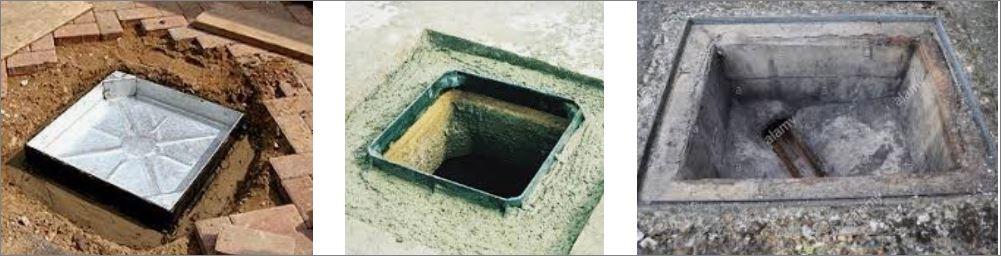 ฝาปิดบ่อท่อพัก grating  Manhole cover  ตะแกรงฝาบ่อครอบท่อพักระบายน้ำ
