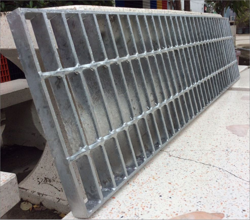 steelgratingmadetoorderspecialsize เกรตติ้งตะแกรงเหล็กระบายน้ำสั่งทำขนาดพิเศษ