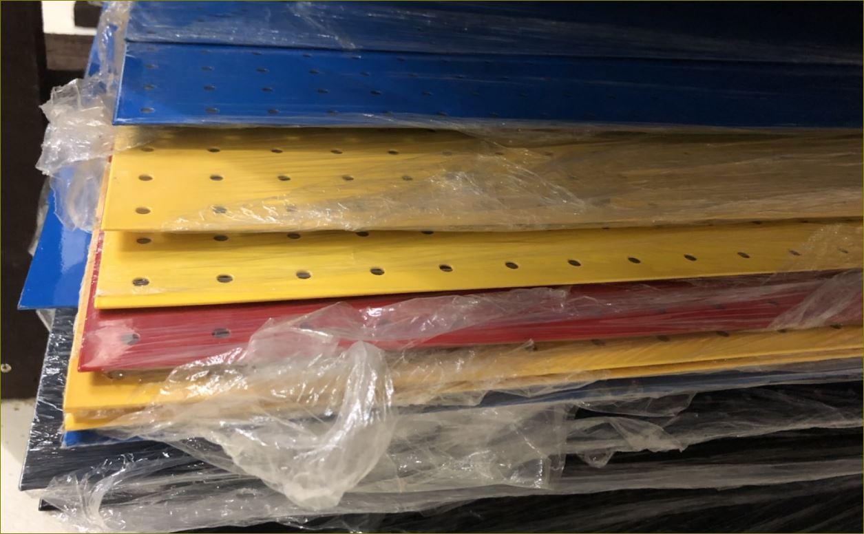แผ่นกระดานเพ็กบอร์ด Pegboard Tools Hooks ฮุกตะขอลวดขาแขวนเพ็คบอร์ด