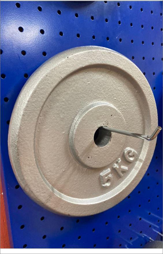Pegboard Hardboard แผ่นกระดานเพ็คบอร์ดแขวนเก็บอุปกรณ์เครื่องมือช่าง
