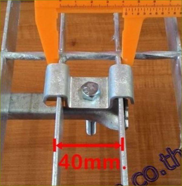 ประกับ ตัวล็อค ตัวต่อ ตัวยึด ตัวแขวน ตัวรับ ตัวเกี่ยว เหล็กยืดแผงตะแกรง fastenersaddlecliplock Fixedgrating ตัวคลิปล็อคยึดจับแผ่นตะแกรงเหล็ก