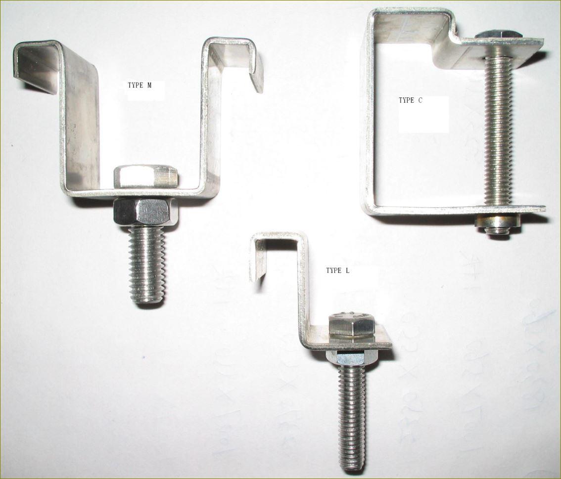Fixedgrating ประกับ ตัวล็อค ตัวต่อยึดแขวนรับเกี่ยวเหล็กยืดแผงตะแกรง fastenersaddlecliplock ตัวคลิปล็อคยึดจับแผ่นตะแกรงเหล็ก