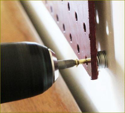 Pegboard Tools กระดานเพ็กบอร์ด Hooksฮุกตะขอลวดขาแขวนเพ็คบอร์ด