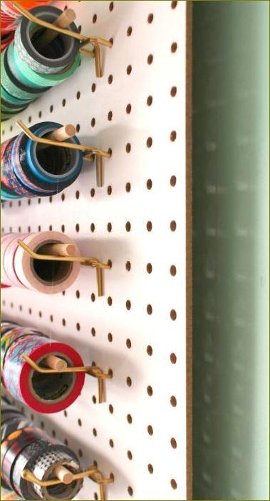 toolhookpegboardshelf กระดานเป๊กบอร์ด Hooksฮุคตะขอลวดขาแขวนกระดานเพ็คบอร์ด