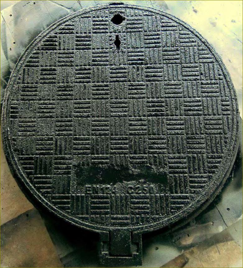 sewer drain ductile manhole cover ฝาปิดบ่อพักท่อระบายน้ำเหล็กหล่อเหนียว