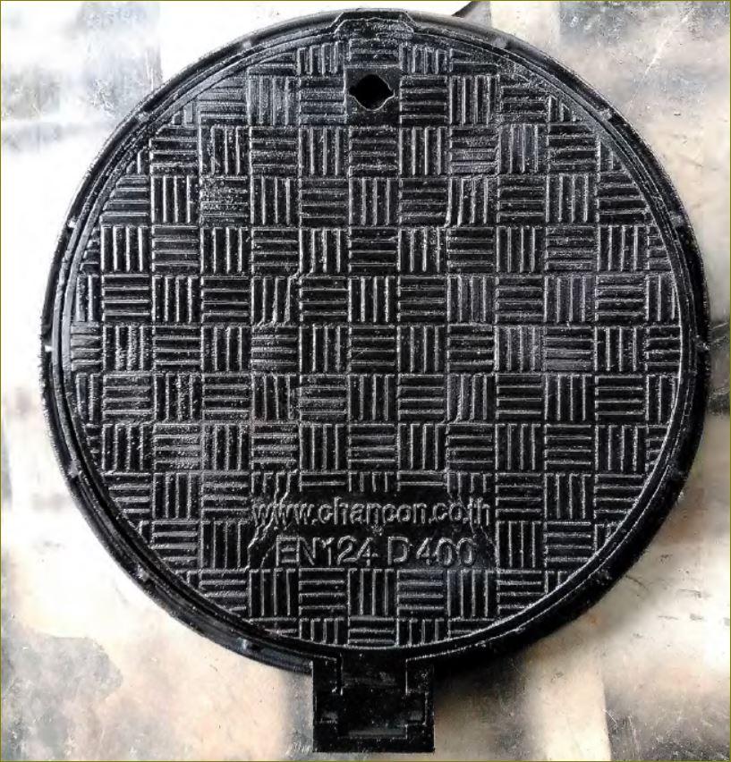 CastDuctile Iron Manhole Covers Frames ฝาท่อตะแกรงเกรตติ้งระบายน้ำเหล็กหล่อเหนียว