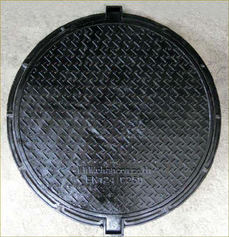 เกรตติ้งตะแกรงระบายน้ำฝาปิดบ่อครอบท่อพัก CastDuctile Iron Manhole Covers Frames grating
