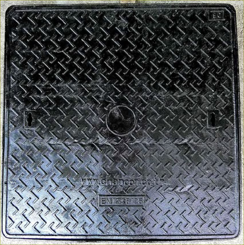 sewer drain เกรตติ้งตะแกรง ductile manhole cover ฝาปิดบ่อพักท่อระบายน้ำเหล็กหล่อเหนียว