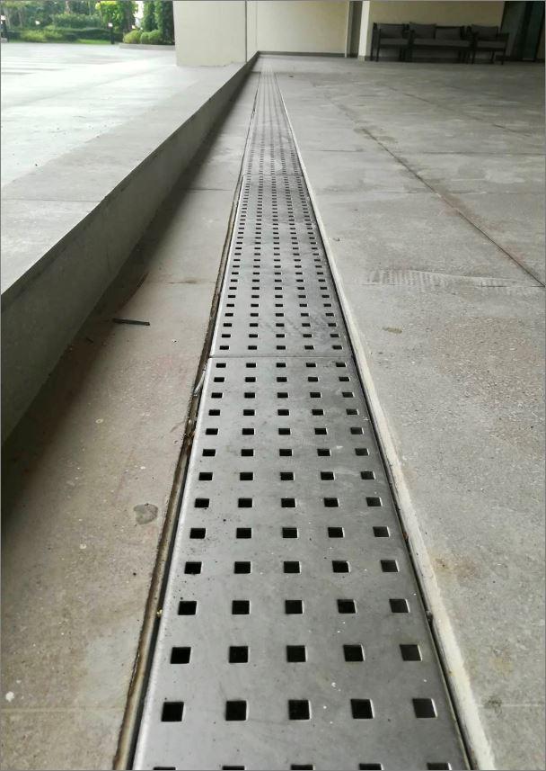 Bathroom Shower Floor Drain Stainless Grating ฝาปิดบ่อครอบท่อพักตะแกรงสแตนเลสเกรตติ้งระบายน้ำ