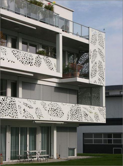 แผ่นเหล็กฉลุลายเลเซอร์ตกแต่ง  แผ่นรั้วราวกันตกบริเวณระเบียง เฉลียงหน้าต่างประตูทางเดินDecorative grill Terrace balcony Veranda Laser cnc Metal