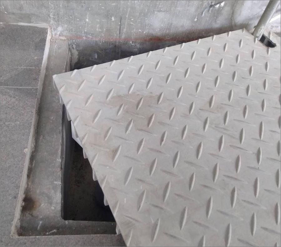 FRP ManholeCover ฝาปิดท่อระบายน้ำ ฝาบ่อพักสําเร็จรูป