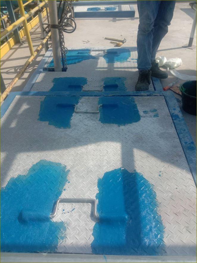 Fiberglass anti-slip Cover grating ฝาบ่อครอบท่อพักเกรติ้งตะแกรงเหล็กระบายน้ำไฟเบอร์กล๊าส