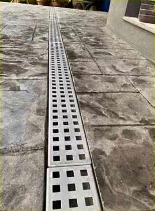 Perforated New Stainless Steel Grating เกรตติ้งตะแกรงสแตนเลสระบายน้ำรุ่นใหม่